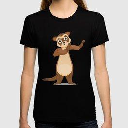 Ferret Mammals Domestic Animals Dabbing Wildlife Gift Ferret DAb T-shirt