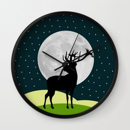 Welcome Night Wall Clock