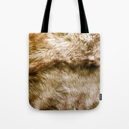 Fluffy Fur Tote Bag