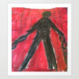 The Monster (Prisoner) Art Print