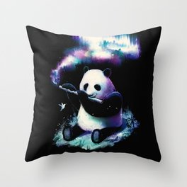 Music Is My Universe Throw Pillow