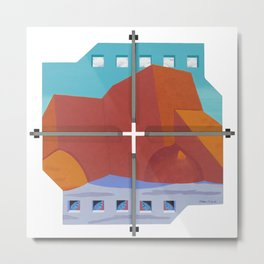 Rancho De Taos Church Metal Print