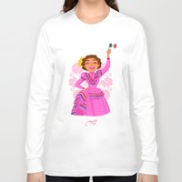 mexico Long Sleeve T-shirts featuring Mexico  by Melissa Ballesteros Parada