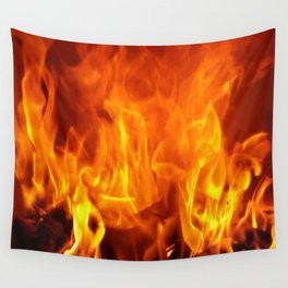 fire pattern home decor Wall Tapestry