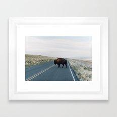 Buffalo Bill Framed Art Print