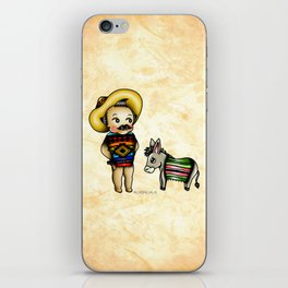 Mexican Kewpie iPhone Skin
