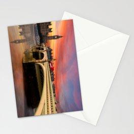 London Sunset Stationery Cards