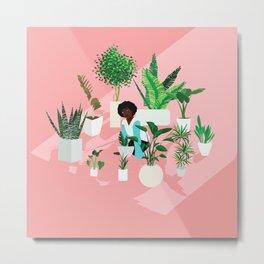 Secret Garden (Circle of Friends Version) Metal Print