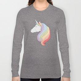 Unicorn Rainbow Long Sleeve T-shirt