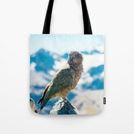 New Zealand Kea Tote Bag