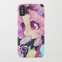 chibi iPhone & iPod Cases featuring chibi by barachan