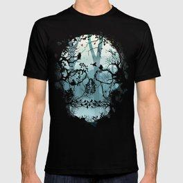 Dark Forest Skull T-shirt