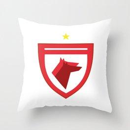 Dinamo Bucharest Icon Throw Pillow