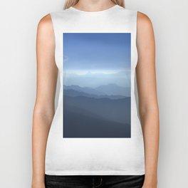 Blue dreams II. Misty mountains Biker Tank