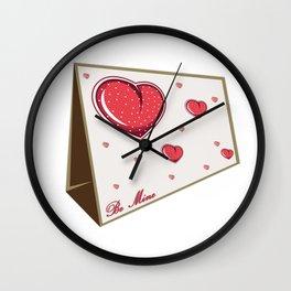 Be Mine Humorous Boyfriend or Girlfriend Gift Wall Clock