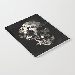 Spring Skull Monochrome Notebook