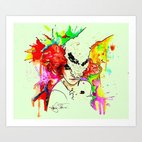 Carnival Muero. Art Print