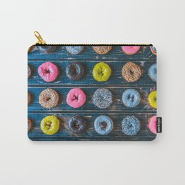Vegan Donut Party Carry-All Pouch