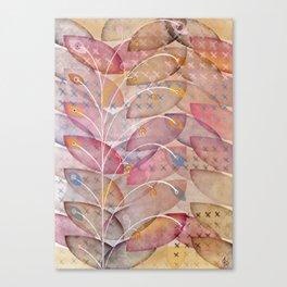 Gem garden Canvas Print