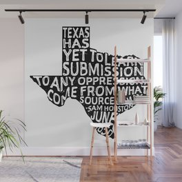 Texas Y'All Wall Mural