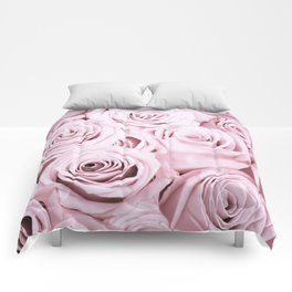 Pink Roses Flowers - Rose and flower pattern Comforters