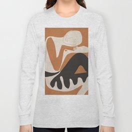 Abstract Art Figure Long Sleeve T-shirt