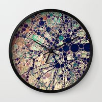 shipping Wall Clocks featuring Colorful tree loves you and me. by Love2Snap