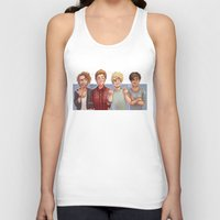 5 seconds of summer Tank Tops featuring 5 Seconds of Summer by gabitozati