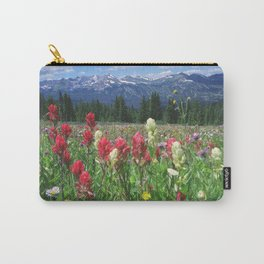 Wildflowers above Breckenridge, Colorado Carry-All Pouch