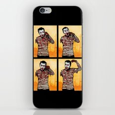 The Zombie Mime! iPhone & iPod Skin