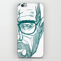 cook iPhone & iPod Skins featuring The Cook by Thecansone