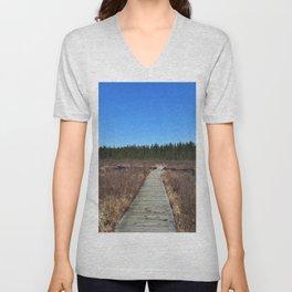 Algonquin walks Unisex V-Neck