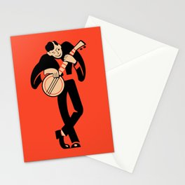 The Banjoist Stationery Cards