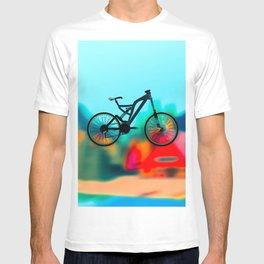 colourful  bike T-shirt