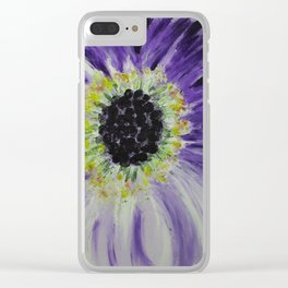 Violette Clear iPhone Case