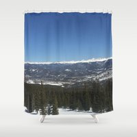 colorado Shower Curtains featuring Colorado by A&N2218