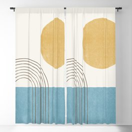 Sunny ocean Blackout Curtain