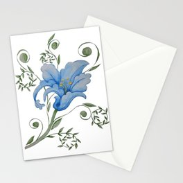 Stylised Flower  Stationery Cards