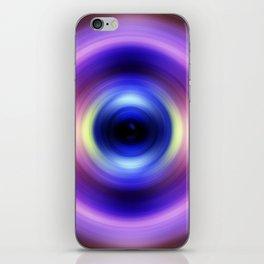 Ultraviolet Swirl iPhone Skin