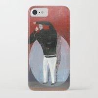 steve jobs iPhone & iPod Cases featuring steve jobs by Robert Deutsch