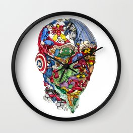 Heroic Mind Wall Clock