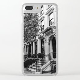 Brooklyn Heights Clear iPhone Case
