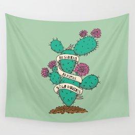 Ni Santas Ni Putas Solo Mujeres Wall Tapestry