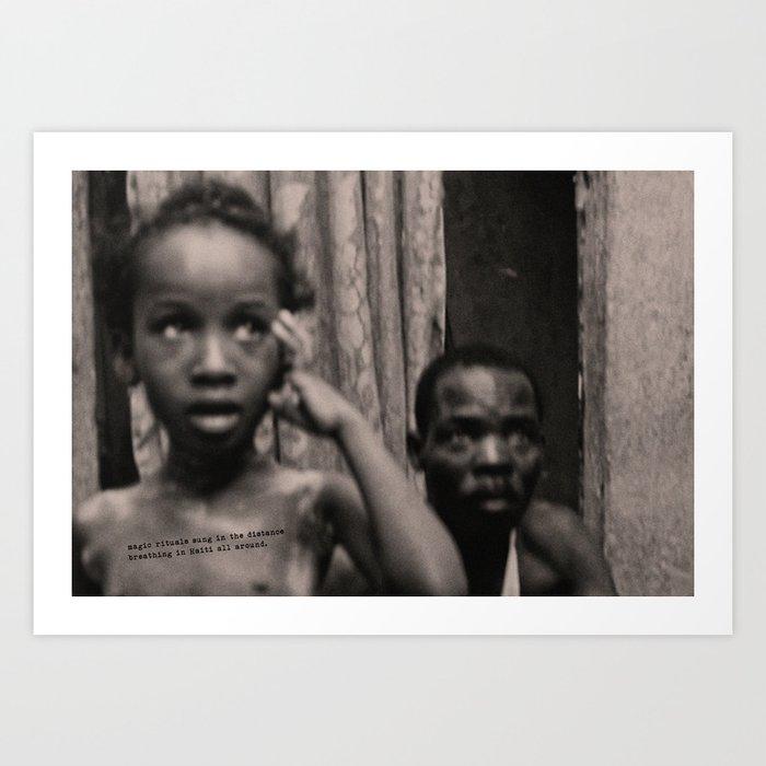 Lyrical Haiti 08 Art Print