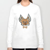 yorkie Long Sleeve T-shirts featuring New Yorkie by Brianna Heyer