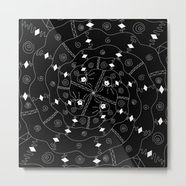Swirling Metal Print
