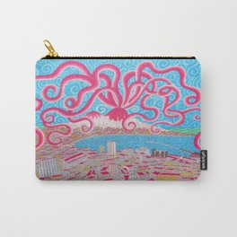NapoliVesuvioOctopus Carry-All Pouch