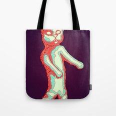 Zombie Cat Tote Bag