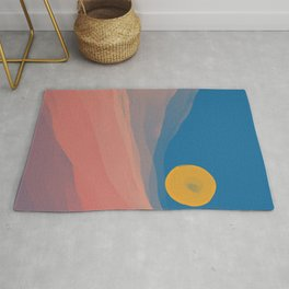 Somewhere Between Dusk And Dawn Rug