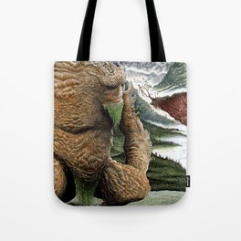 The Earth Golem Tote Bag